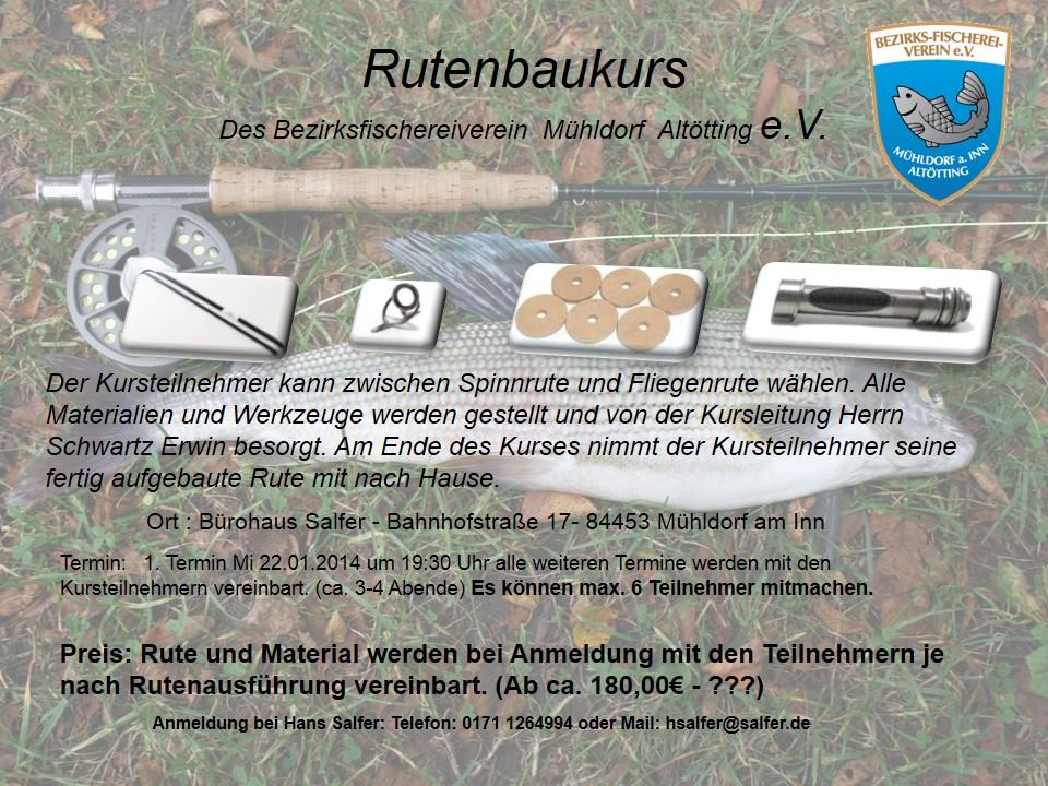 Kurs Rutenbau 2014